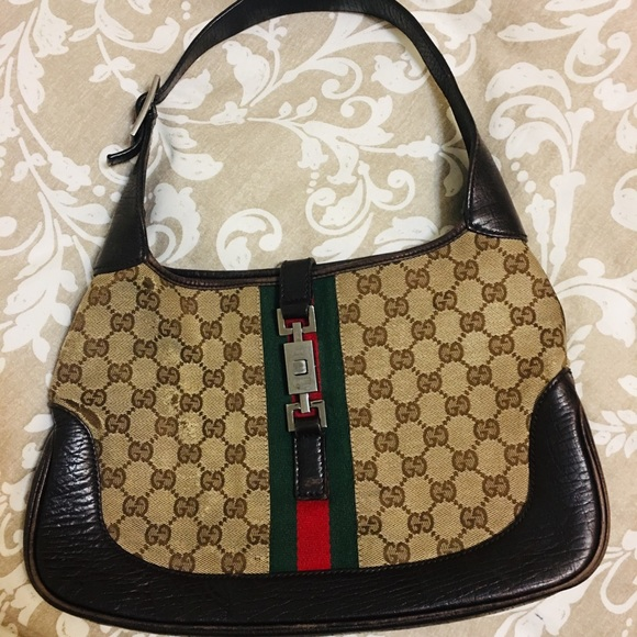 """Gucci Handbags - *SOLD* Authentic Gucci """"Jackie"""" Bag"""